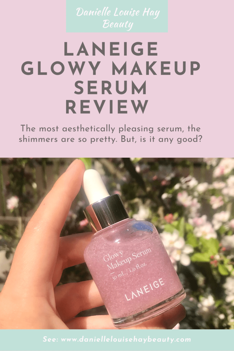 Laneige Glowy Makeup Serum review. Korean skincare, Korean