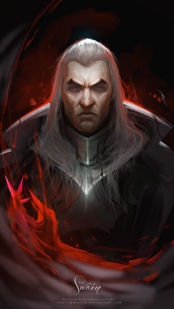 Swain The Noxian Grand General By Thefearmaster Fantasy Art In