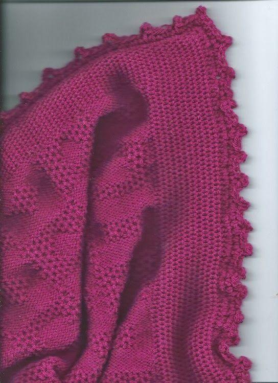 Marzipanknits: Tuck Baby Blanket MACHINE KNITTING Pinterest Blanket