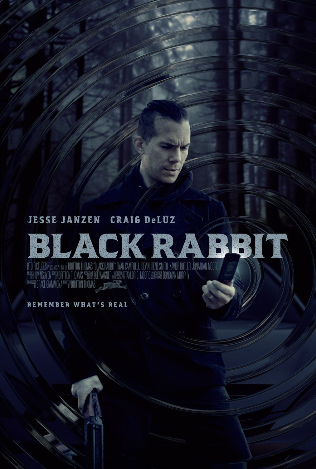 Black Rabbit Movie Poster By Www Keyart Ca Graphicdesign Design