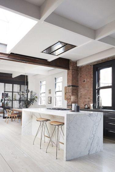 Scandinavian Minimalism In A New York Loft Apartment (Gravity Home).  Interior Design KitchenKitchen ...
