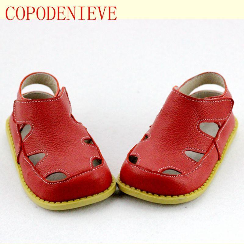 0dab4ec04 COPODENIEVE Nuevo Estilo De Moda Casual Niños Niñas Sandalias Para Los  Zapatos de Bebé Antideslizantes Niños Sandalias Marca Blanco Rosa