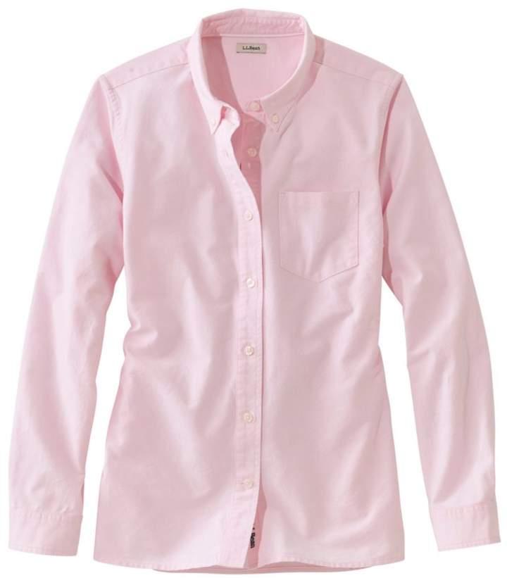 138fd388b8cfc L.L. Bean L.L.Bean Lakewashed Organic Cotton Oxford Shirt
