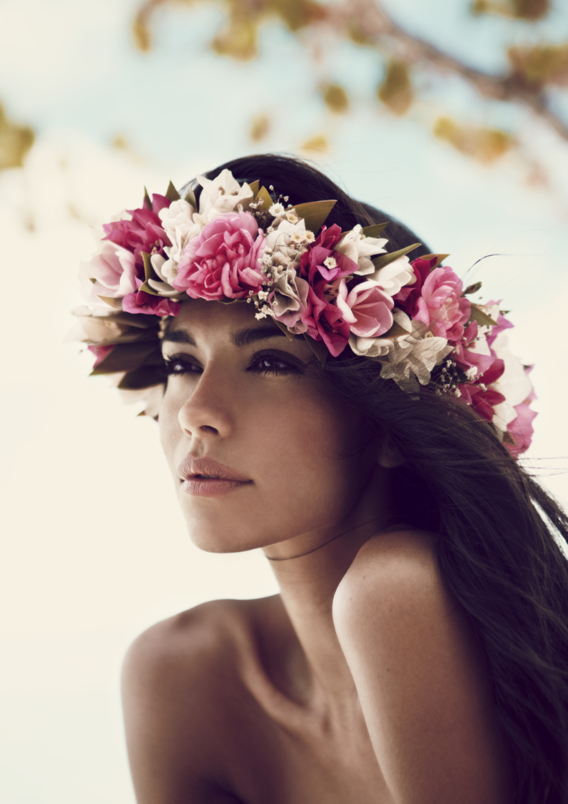 Lovely makeup looks pinterest hawaii rose crown and crown lovely izmirmasajfo