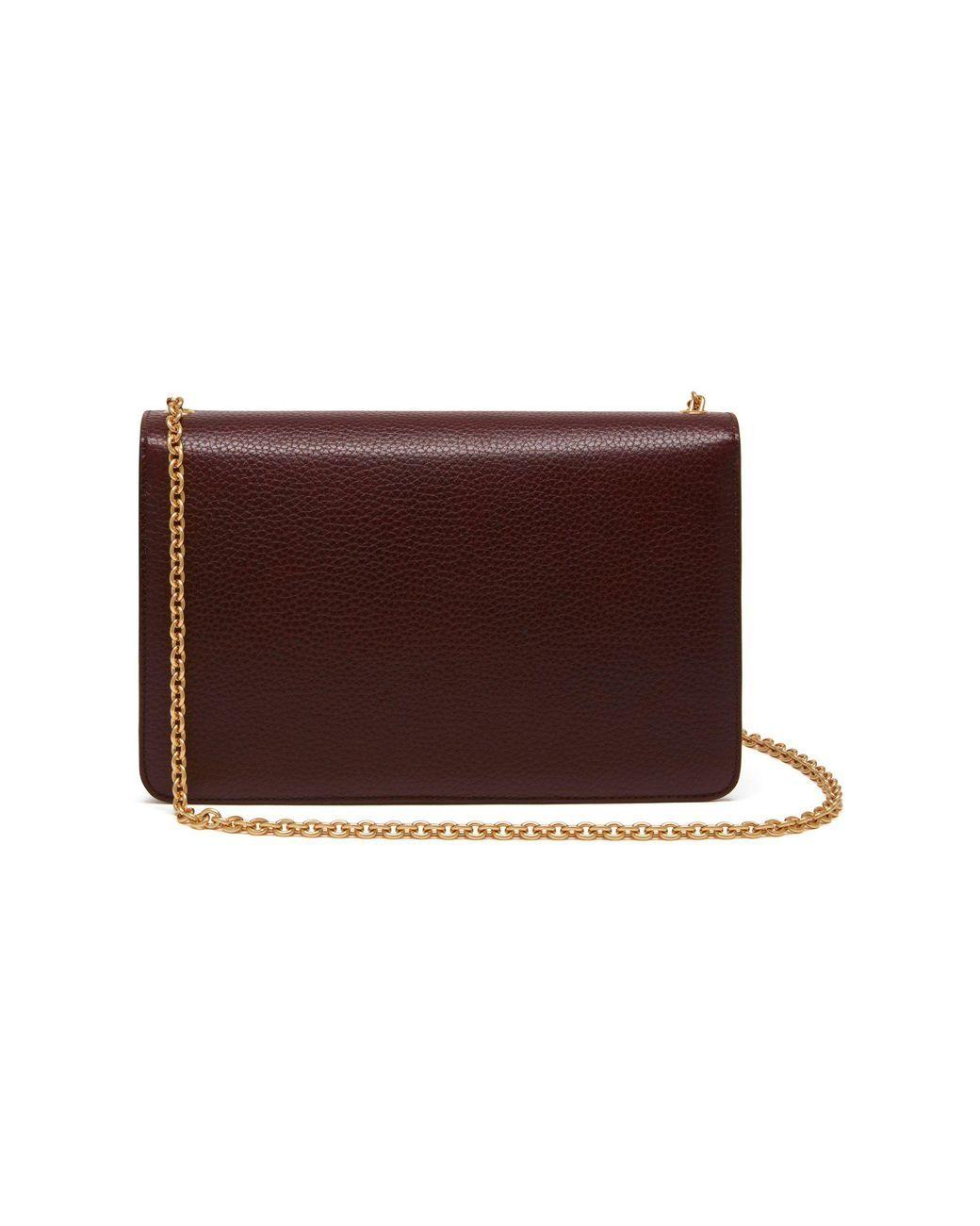 0f8cd4e5ad7 Women's Darley In Oxblood Natural Grain Leather | Mini bag small ...