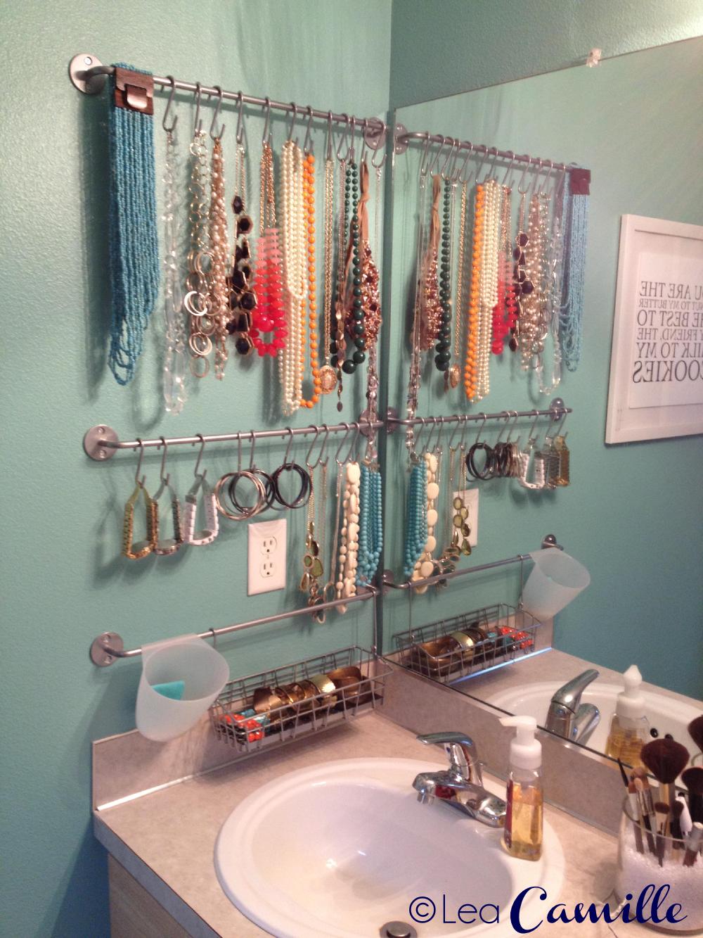 Jewelry Display Organizing Pinterest Jewellery display DIY