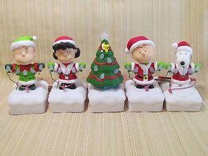 Hallmark 2016 Peanuts Gang Christmas Light Show Wireless Band ...