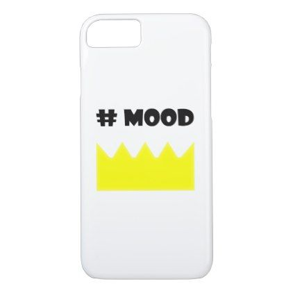 Crown mood queen king. iPhone 8/7 case Xmas