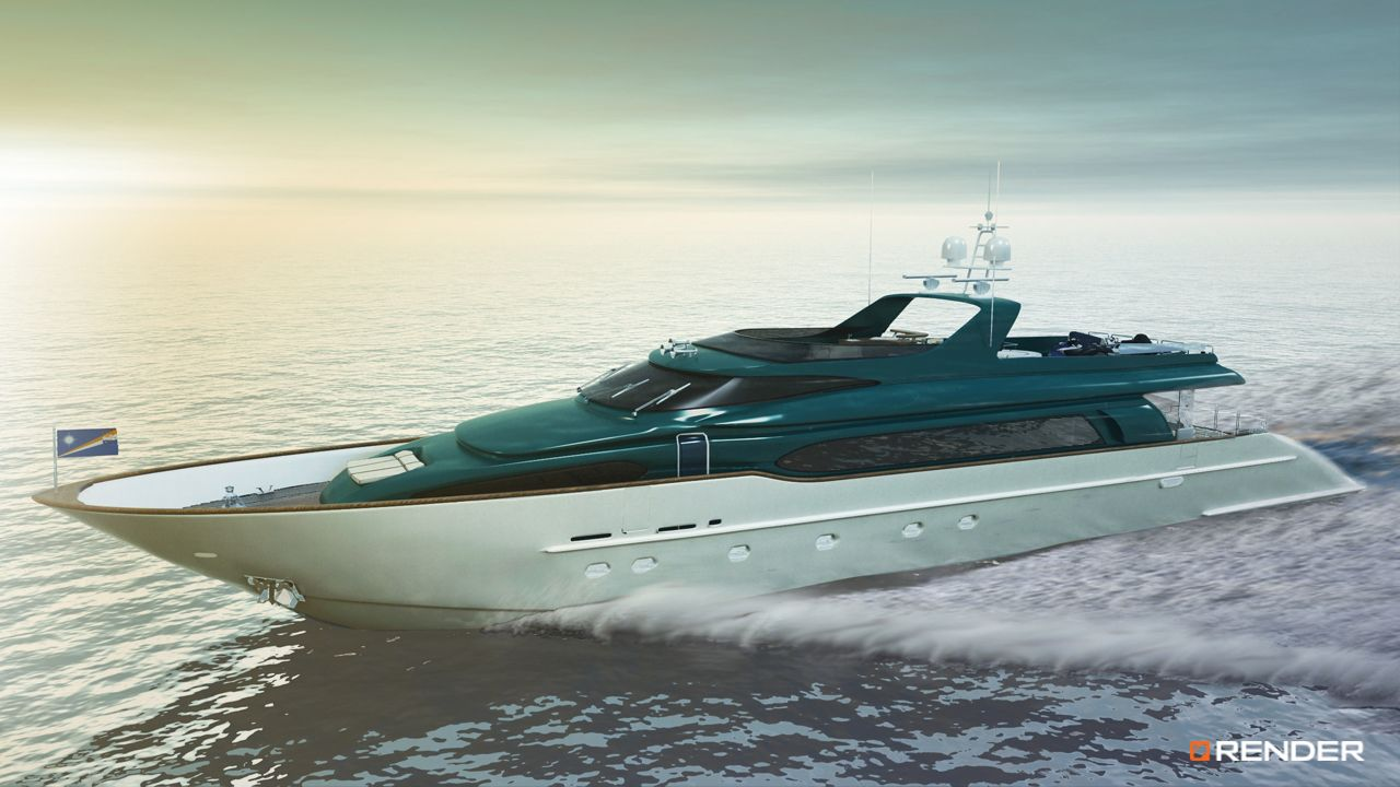 destiny elbayacht yacht luxurylife sea render rendering 3d