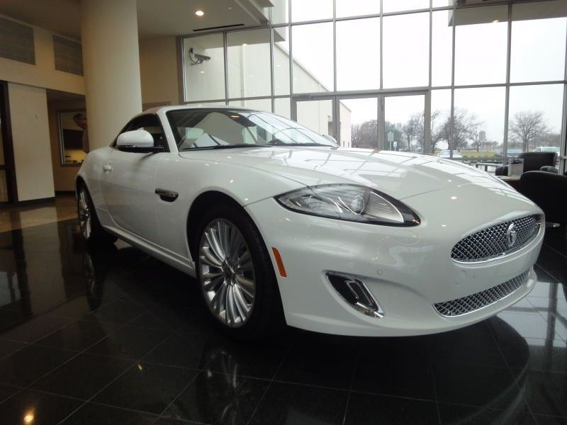 2012 Jaguar XK Convertible In Polaris White At Park Place Jaguar Plano