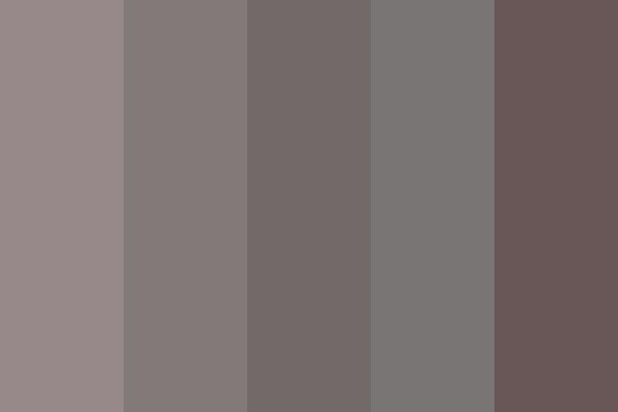 Wolf Grey Color Palette In 2020 Grey Color Palette Color Palette Gray Color