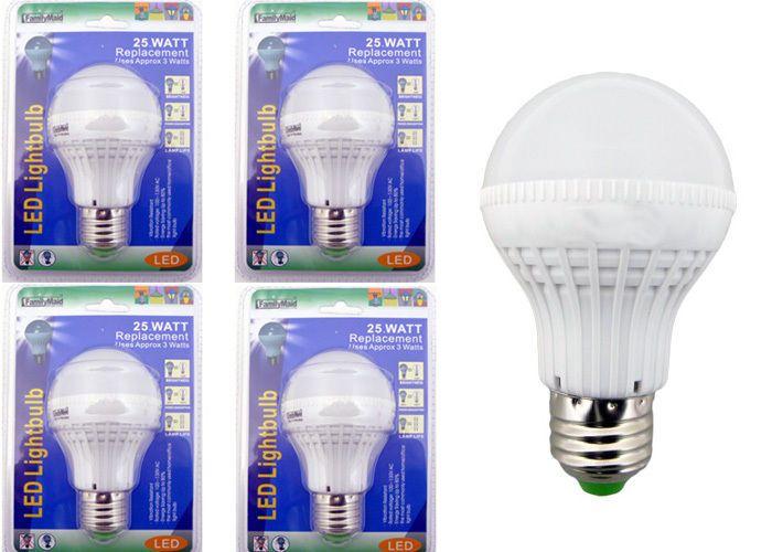 Details About X4 25 Watt Replacement Led Light Bulbs Consumption Of Approx 3 Watts Led Light Bulbs