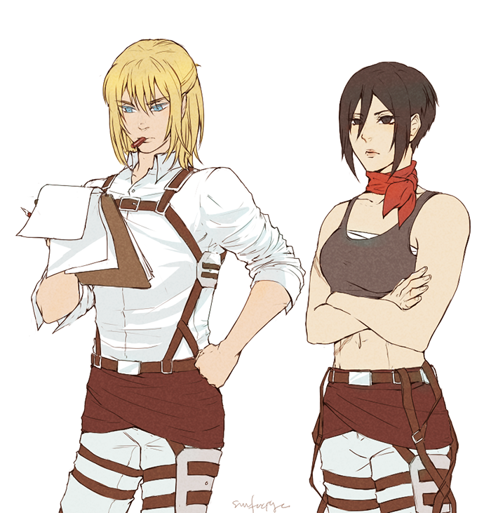 attack on titan grown up - Google Search