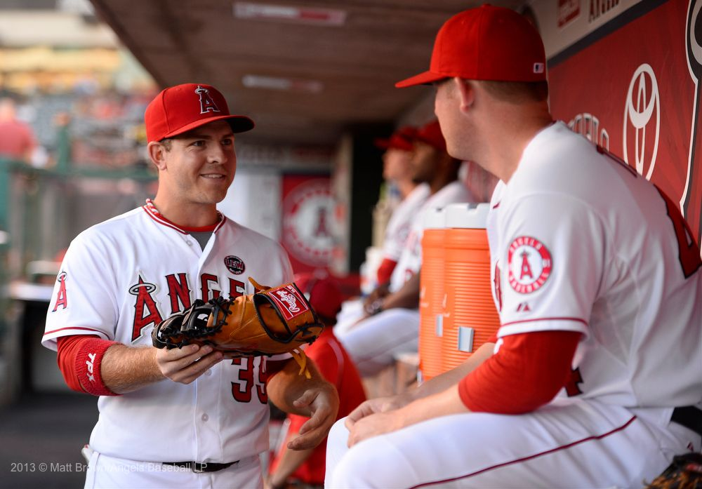 JB Shuck The outfield, Baseball, Hard hat