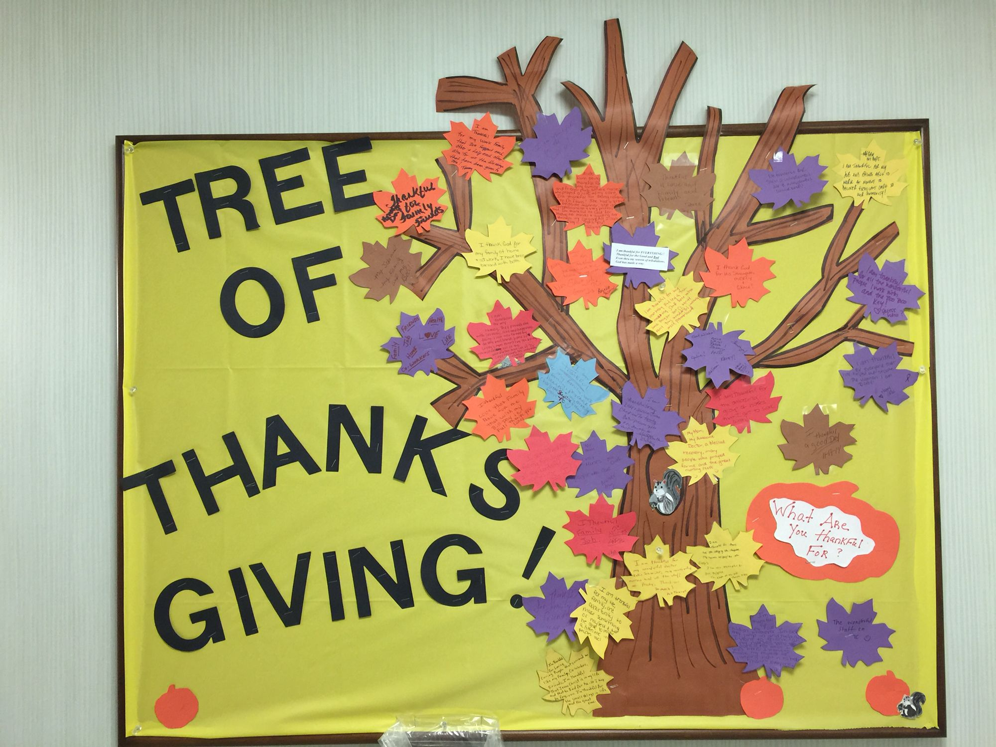 ThanksGiving Tree\