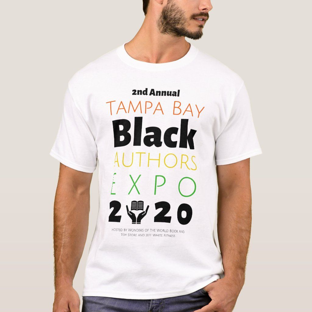 Official t-shirt of the 2nd Annual Tampa Bay Black Authors Expo!