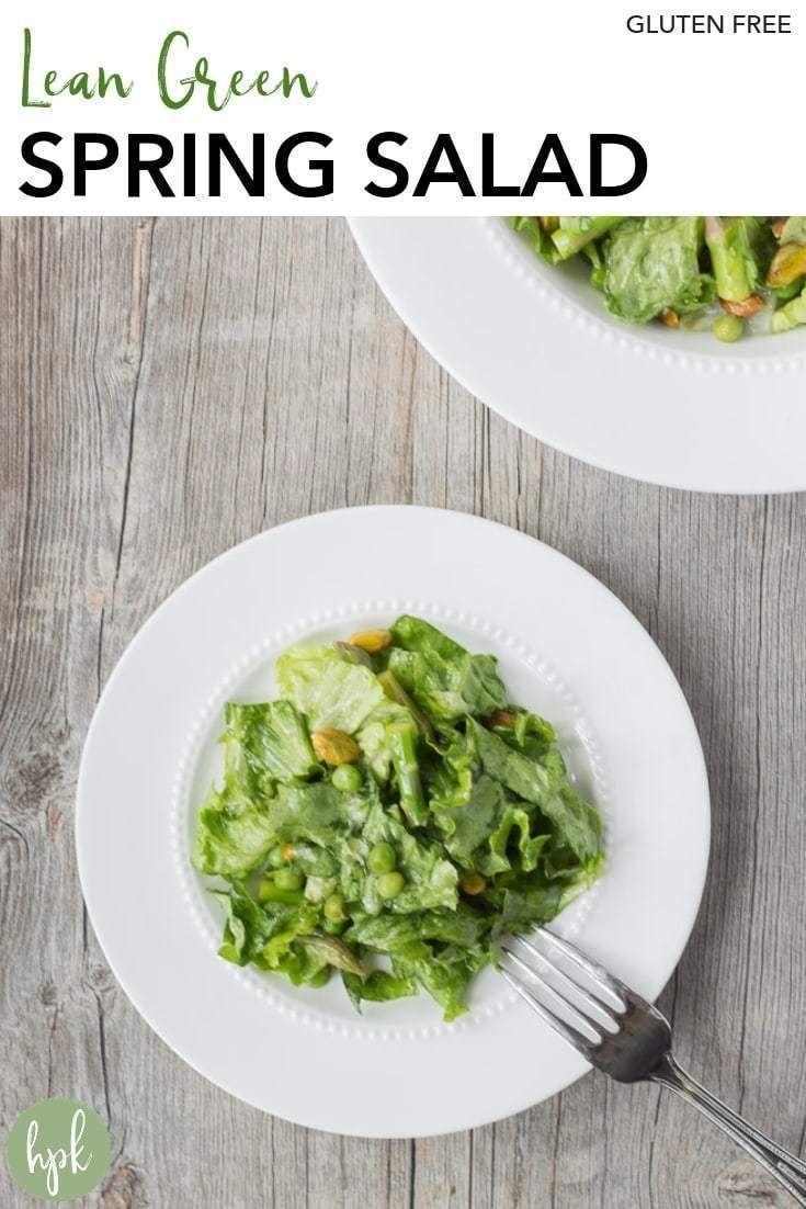 Photo of Dieser magere grüne Frühlingssalat ist ein einfaches, gesundes, glutenfreies R…