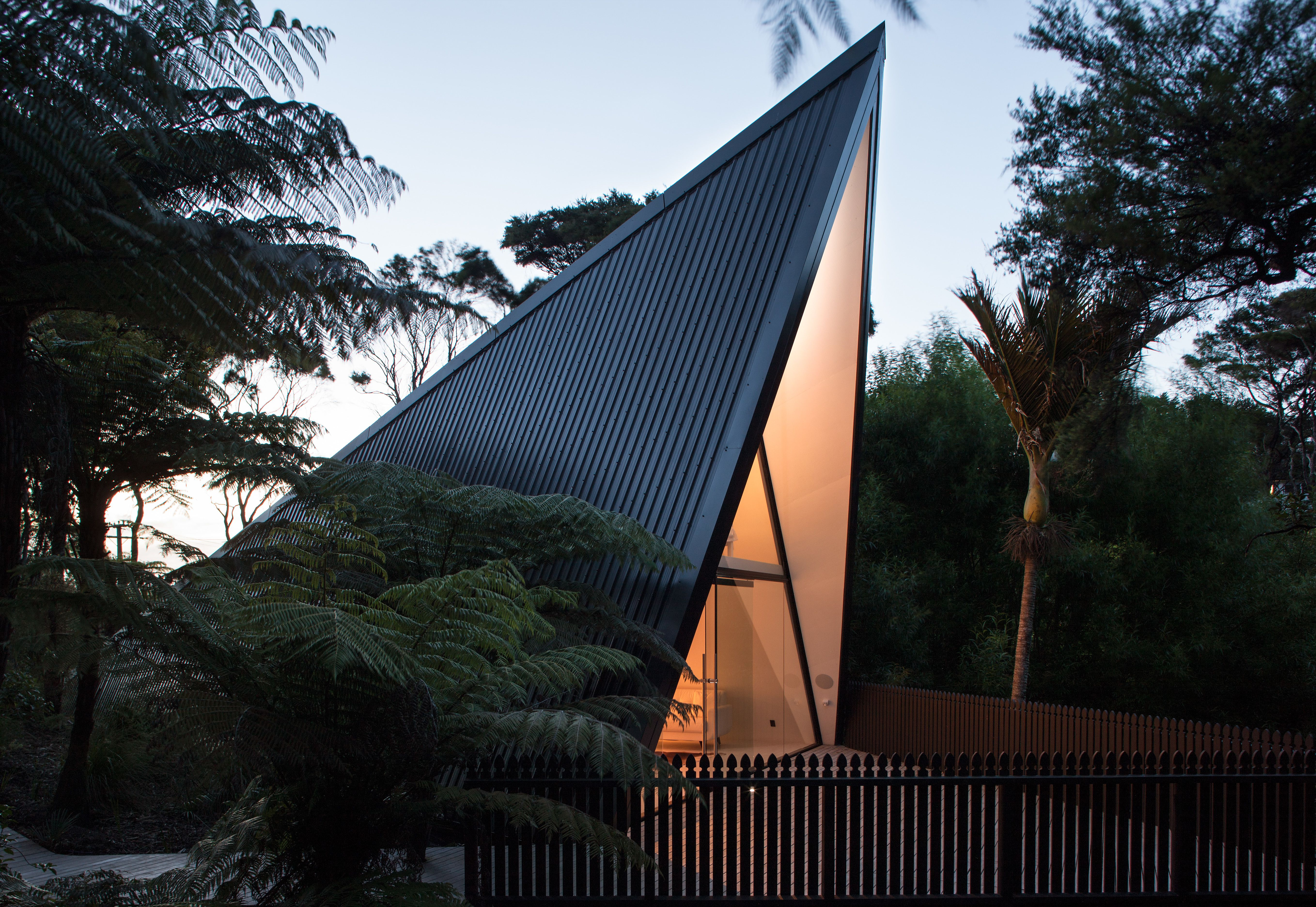 Photo 8 of 8 in Stay in a Tent-Inspired A-Frame Cabin in the New…