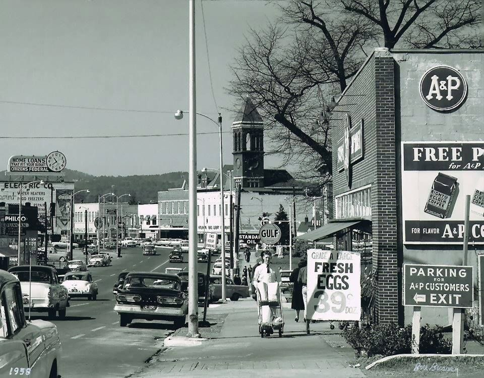 Broad Street Rome Ga C1950s Photo By Bill Bussey Rome