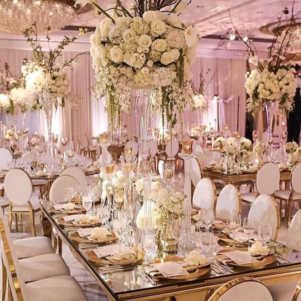 Wedding decorations luxury  What a glam luxury wedding  weddinguc  Pinterest  Luxury wedding