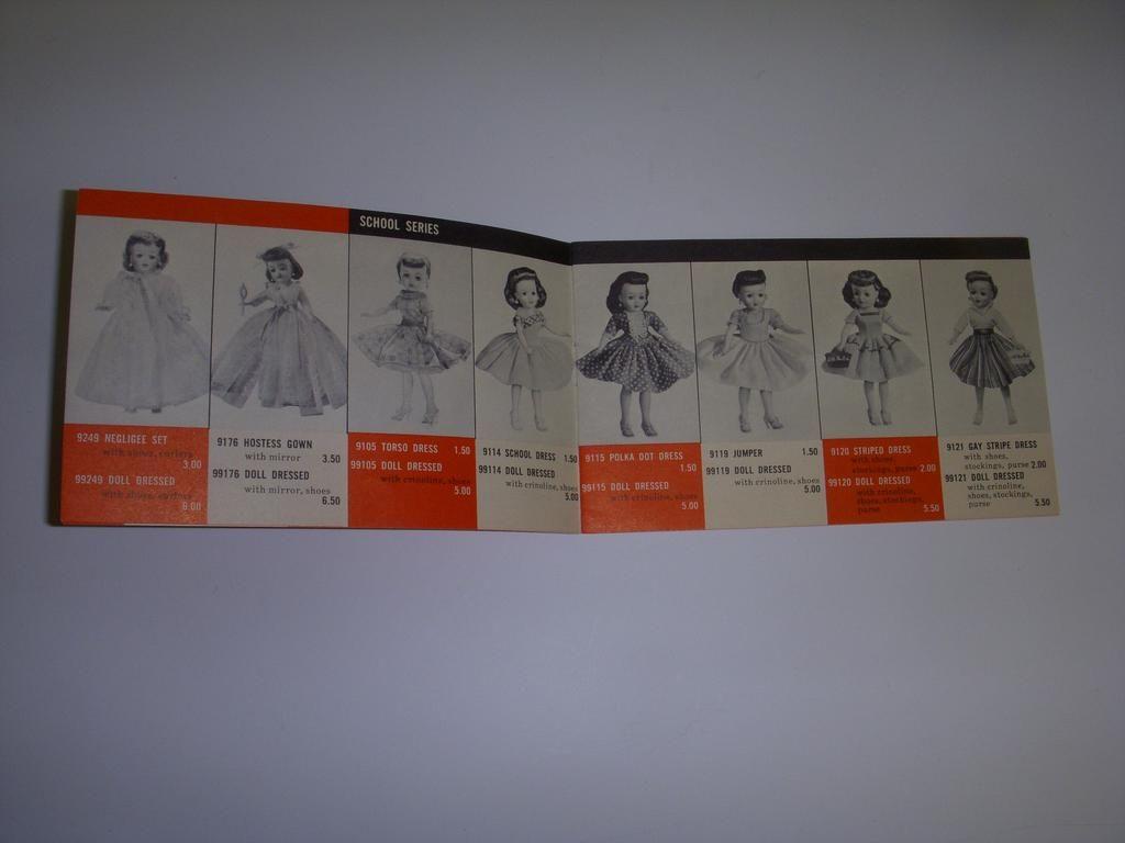 Ideal Little Miss Revlon Original Fashion Booklet!