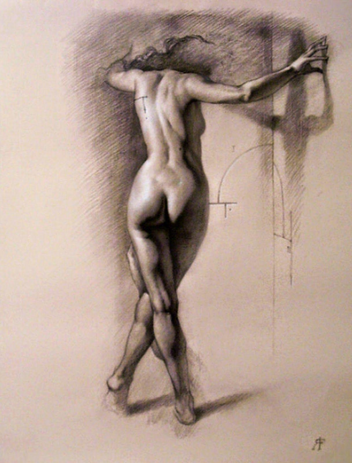 dibujos-mujeres-a-lapiz-cuerpo-completo | Dibujo | Pinterest ...