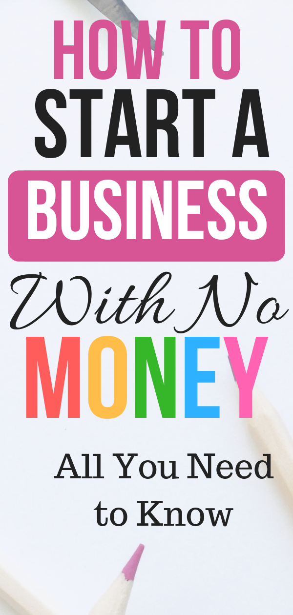 7 Simple Ways How to Start a Business With Little or No ...