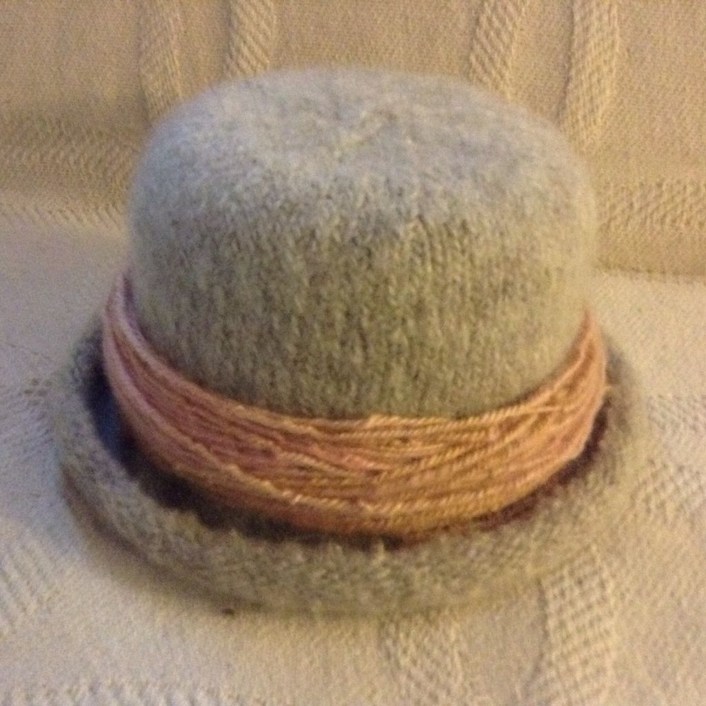 Handspun knitted and felted. | My crafty adventure | Pinterest ...