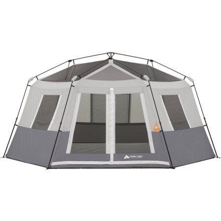 Ozark Trail 8 Person Instant Hexagon Cabin Tent Walmart Com Cabin Tent Tent Ozark Trail