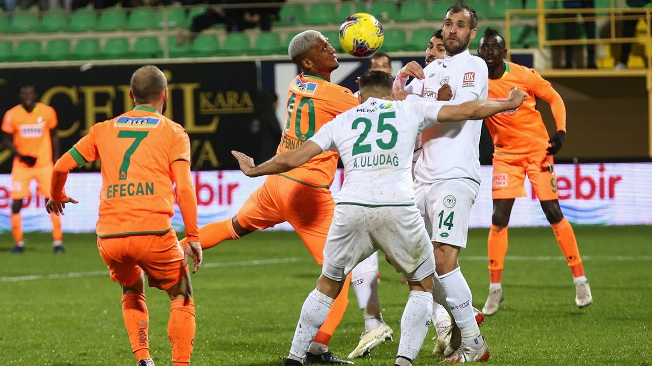 Alanyaspor 2 Konyaspor 1 Mac Ozeti Izle Alaturka Online Mac Izleme Kaleci