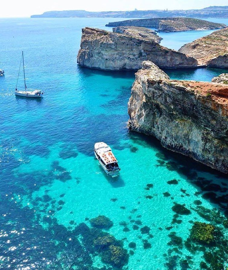 Blue Lagoon Malta Photo By Loucosporviagem By Awesome Pix