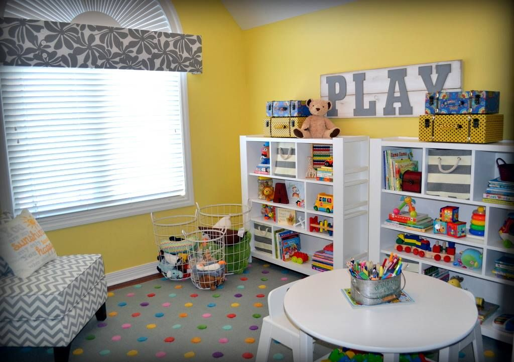 Playroom by Fluff Your Stuff Interior Design