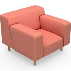 Photo of Fabric armchair