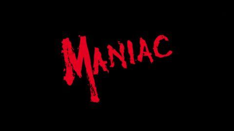 Tipografía del horror ochentero: Maniac