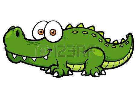 vector illustration of cartoon crocodile school projects rh pinterest com Alligator Clip Art for Teachers Alligator Clip Art for Teachers