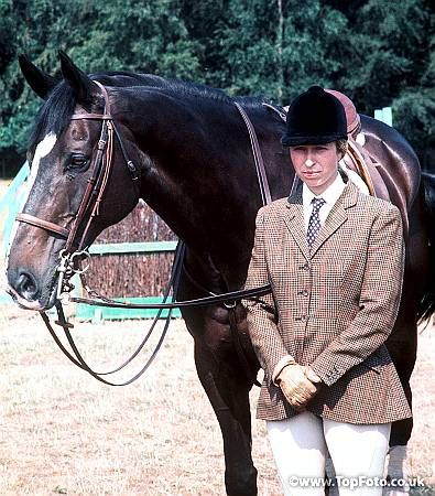 1976 Olympics Princess Anne Later The Princess Royal