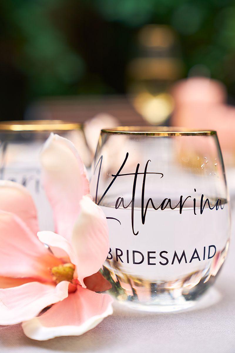 Aufkleber für Gläser #bridalshops