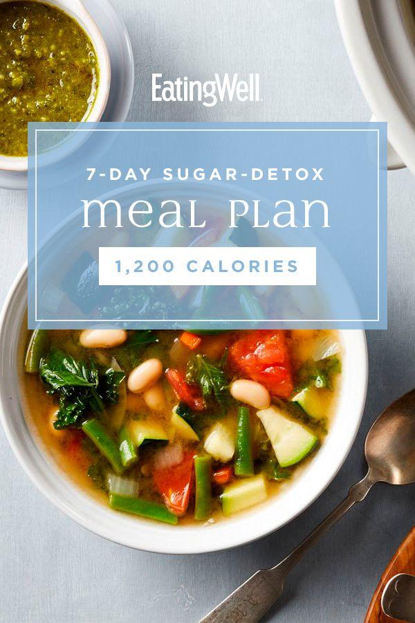 7-tägiger Zucker-Entgiftungs-Ernährungsplan: 1.200 Kalorien   – Best Diet Recipes for Weight Loss