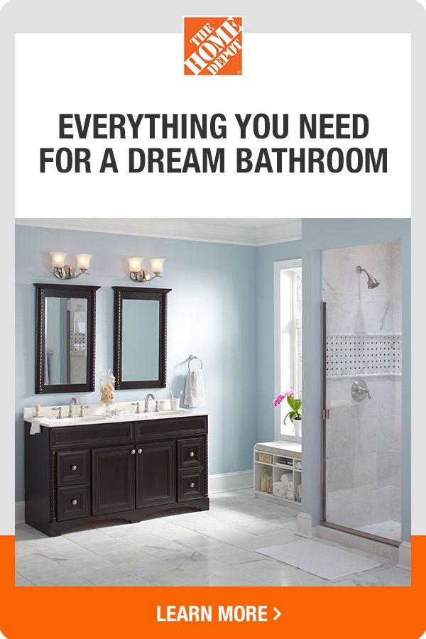 Explore Our Wide Selection Of Bathroom Essentials Online And In Store Shop Tools Tips And Beautiful Decor Click To Disco In 2020 Home Bathroom Essentials Home Depot