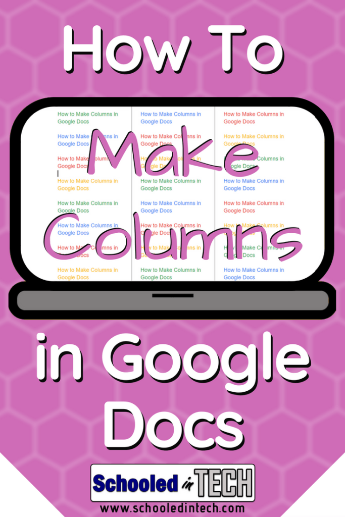How To Make Columns in Google Docs (With Pictures)