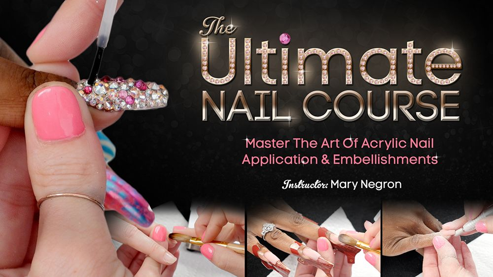 Braiding & Weaving Package Nail courses