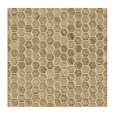 Tile Floor Decor Flow Hexagon Golden  Home Decor  Pinterest  Flow And Mosaics