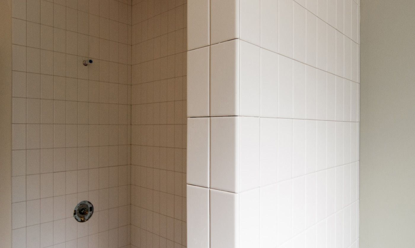 Lessons in tile construction details tiles tile - Tiling a bathroom wall on drywall ...