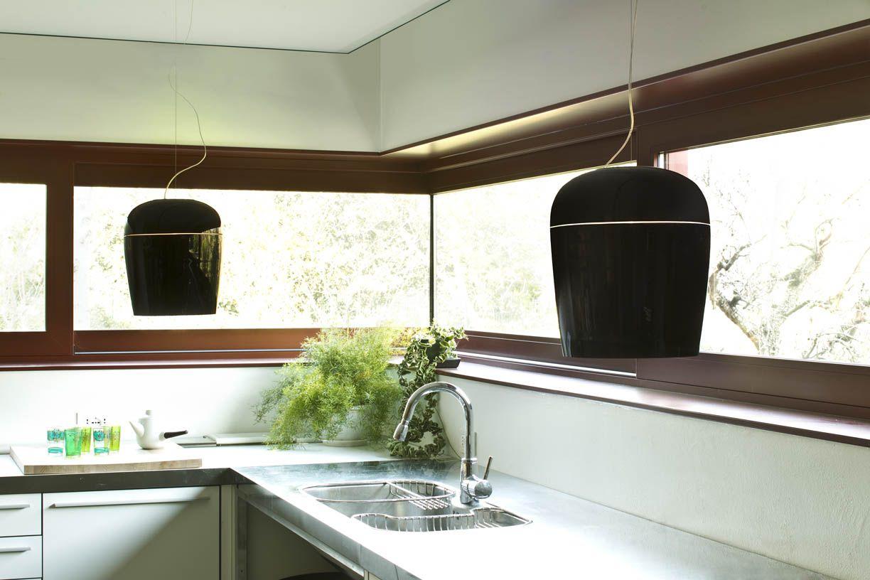 #Tiara blown glass suspension #lamps, design by Prandina R www.prandina.it
