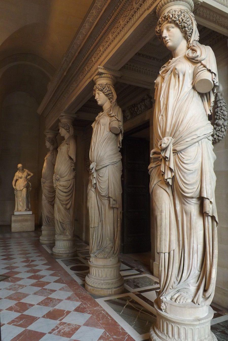 Bildergebnis für salle des Caryatides