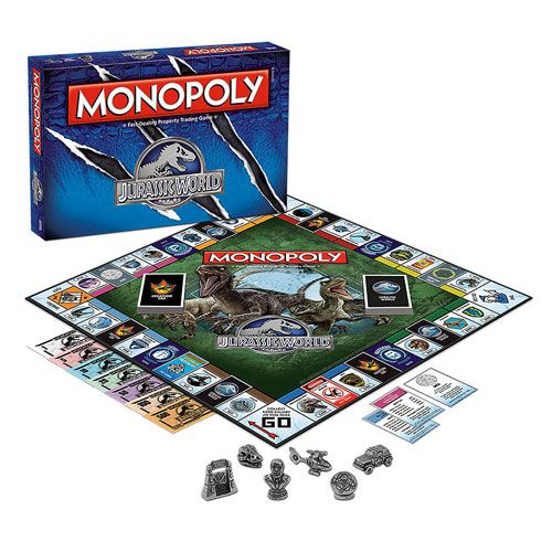 Jurassic World Monopoly Monopoly Not Just For Kids Juegos De
