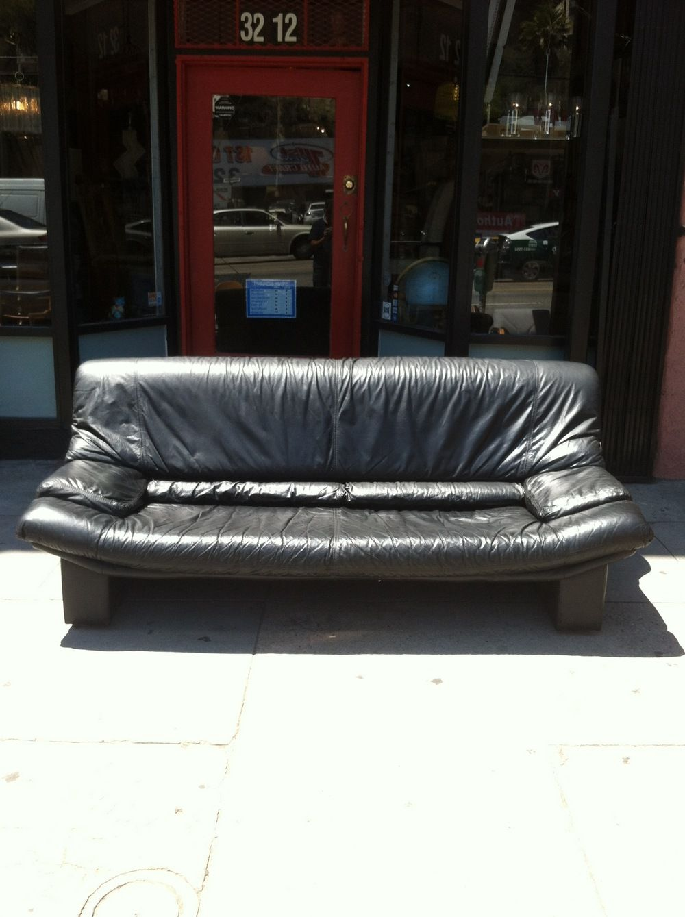 Sold With Images Leather Sofa