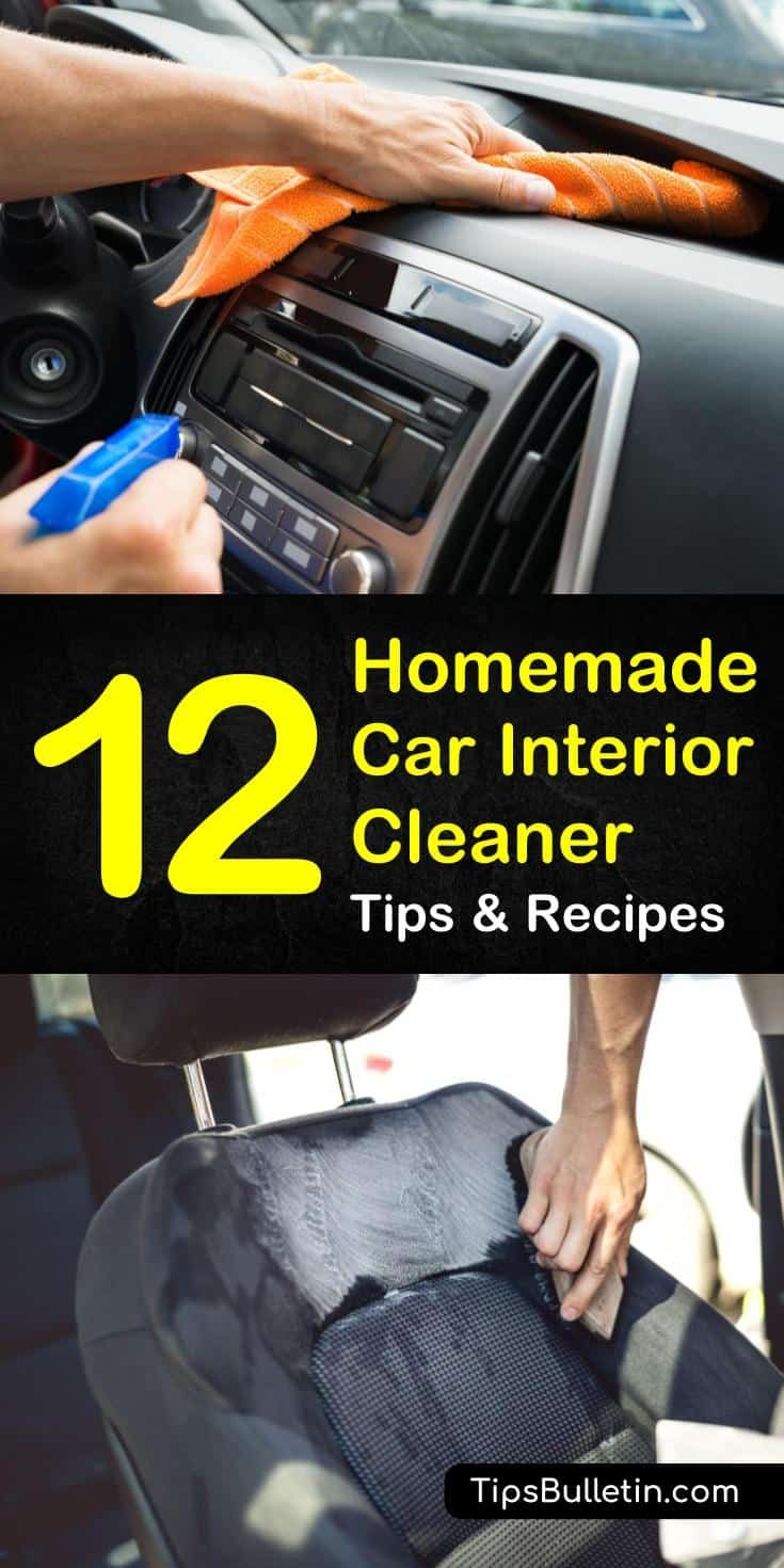 Homemade Car Interior Cleaner Recipes: 12 Tips for Cleaning...