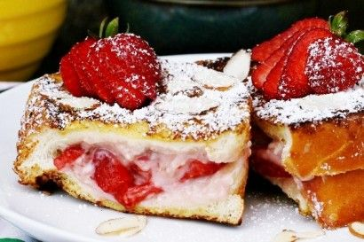 Stuffed French Toast - this recipe has my mouth watering and the person who wrote this has a sense of humor which we can all enjoy