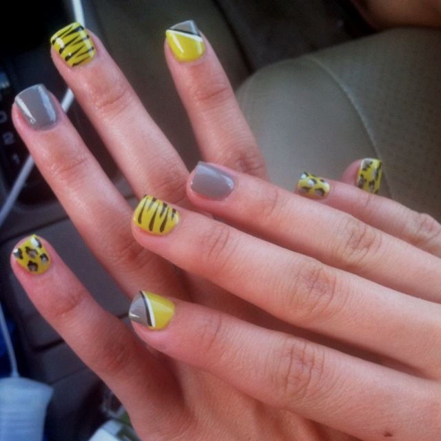 Cute nails  : )
